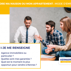 Vendre ma maison ou mon appartement : MODE D'EMPLOI