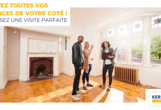 Vendre ma maison ou mon appartement : les visites